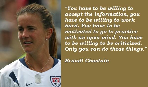 Brandi Chastain's quote #6