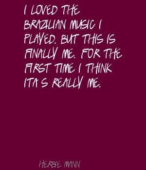 Brazilian Music quote #1