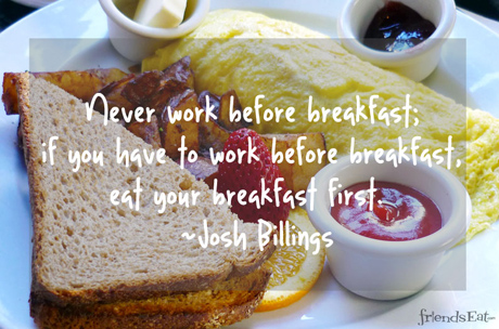 Breakfast quote #5