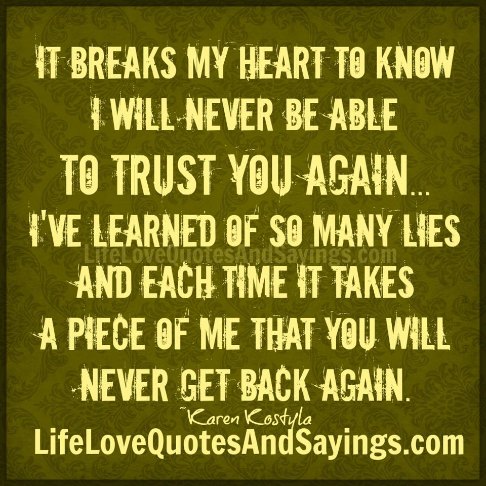 Breaks quote #1