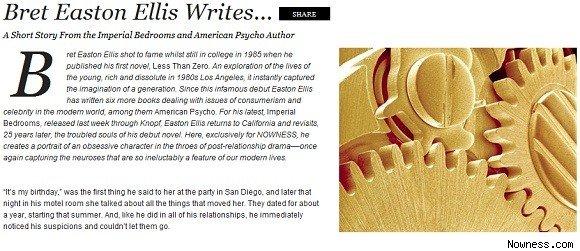 Bret Easton Ellis's quote #6