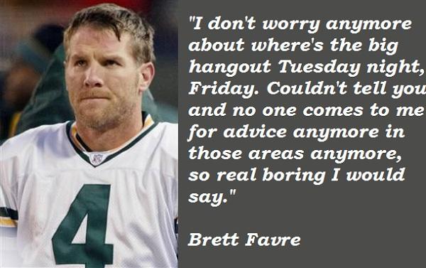 Brett Favre's quote #3
