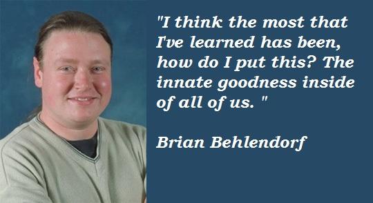 Brian Behlendorf's quote #4