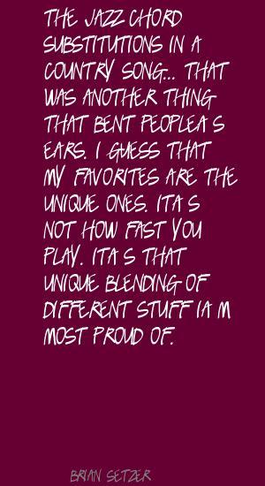 Brian Setzer's quote #7