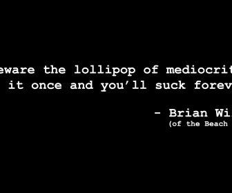 Brian Wilson's quote