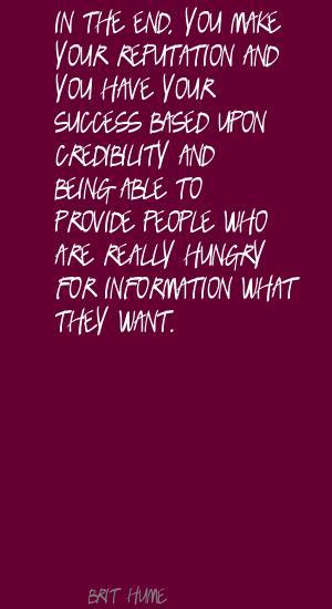Brit Hume's quote #2