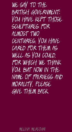 British Government quote #2