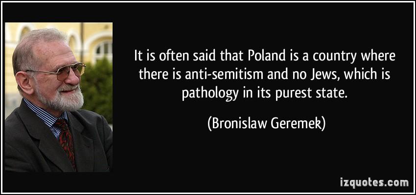 Bronislaw Geremek's quote #1