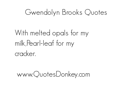 Brooks quote #2