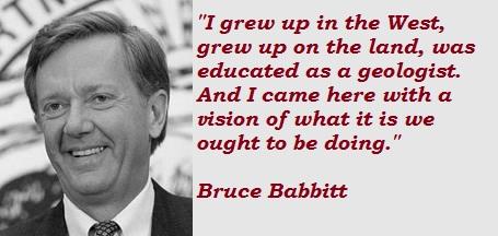 Bruce Babbitt's quote #3