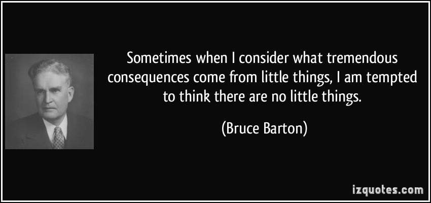 Bruce Barton's quote