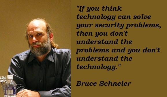 Bruce Schneier's quote #3