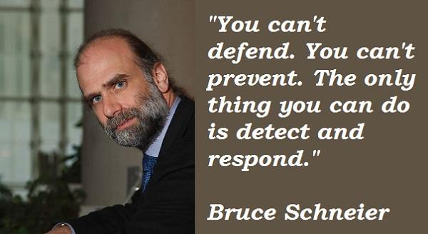 Bruce Schneier's quote #5