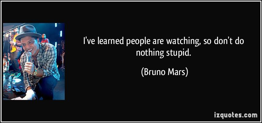 Bruno Mars's quote #6