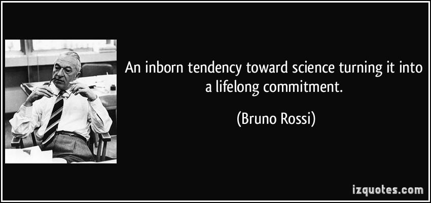 Bruno Rossi's quote #2