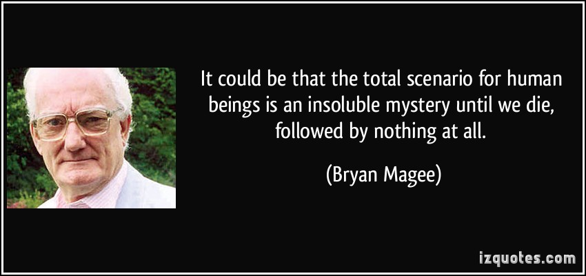Bryan Magee's quote #2
