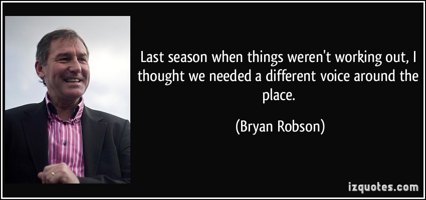 Bryan Robson's quote #3