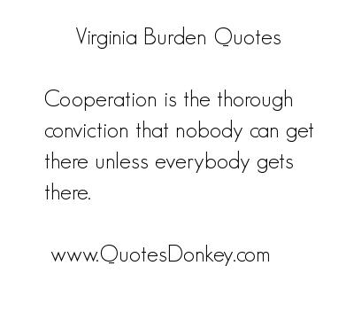 Burden quote #1