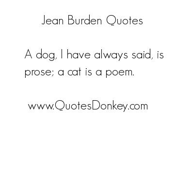 Burden quote #3