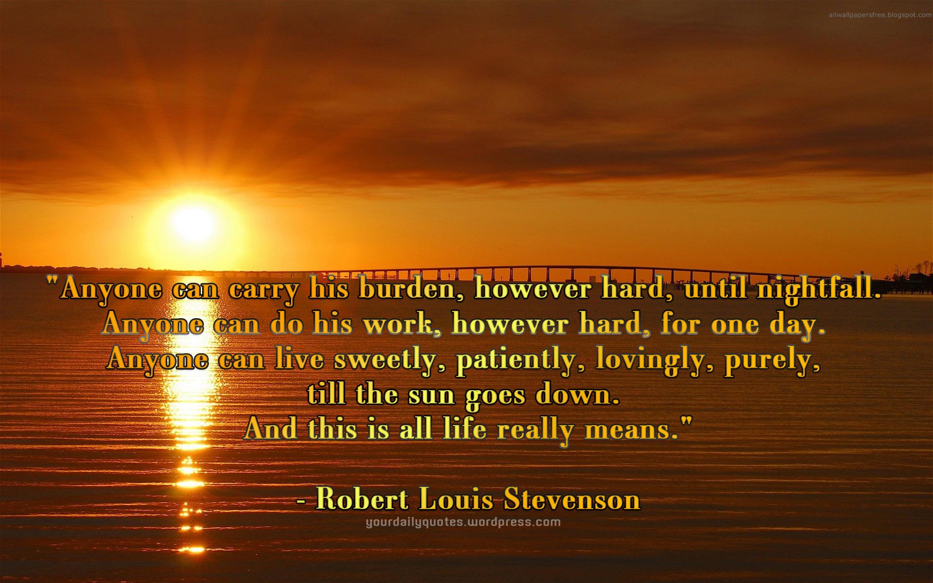 Burden quote #2