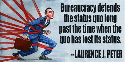 Bureaucracy quote #2