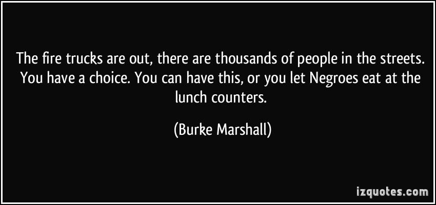 Burke Marshall's quote #1