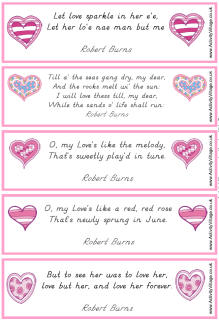 burns quote 2 - Valentines Quotes For Kids