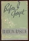Burton Rascoe's quote
