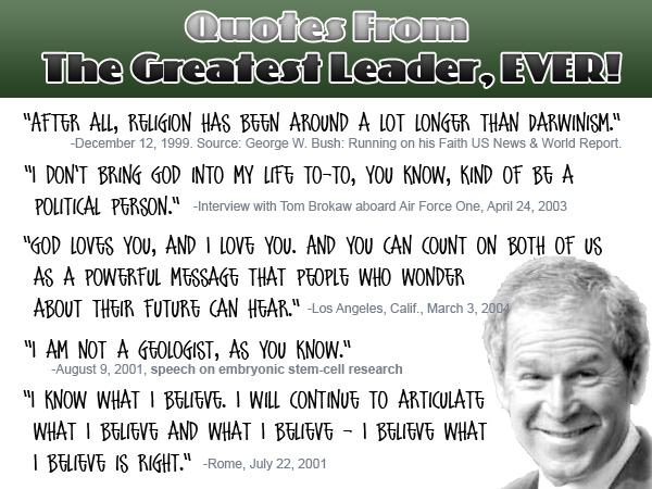 Bush quote #1