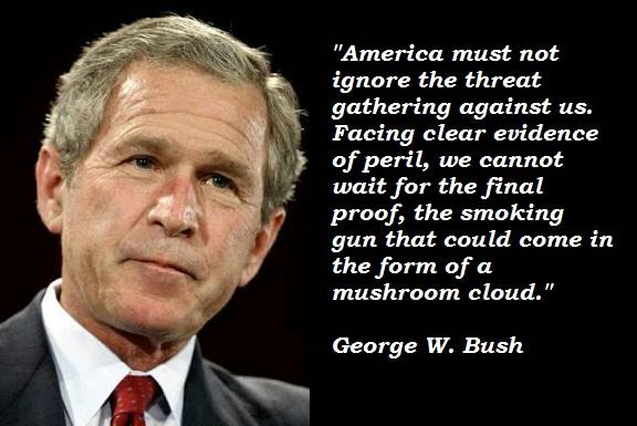 Bush quote #3