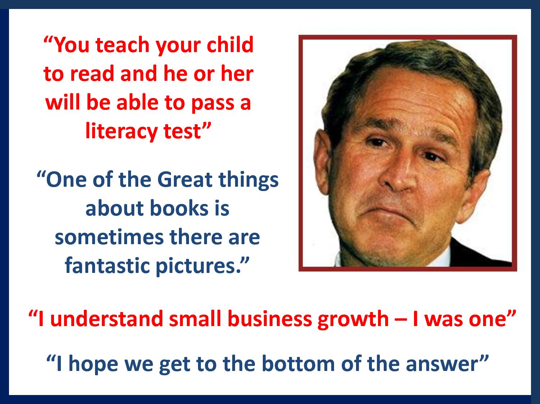 Bush quote #8