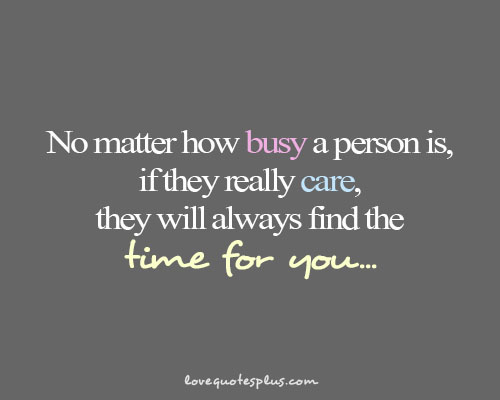 Busy Person quote #1