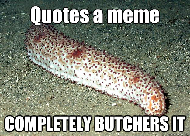 Butchers quote #1