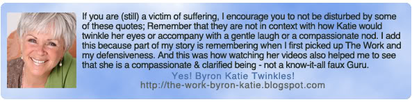 Byron Katie Quotes Best Byron Katie's Quotes Famous And Not Much  Sualci Quotes