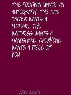 Cab Driver quote #2