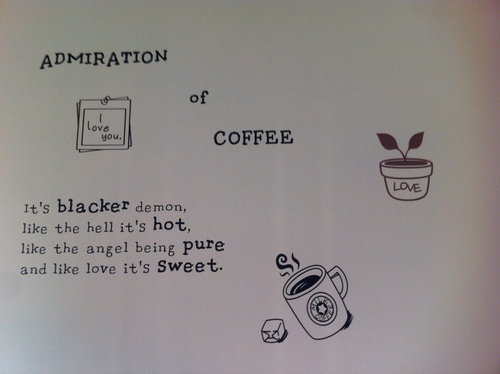 Cafe quote #1