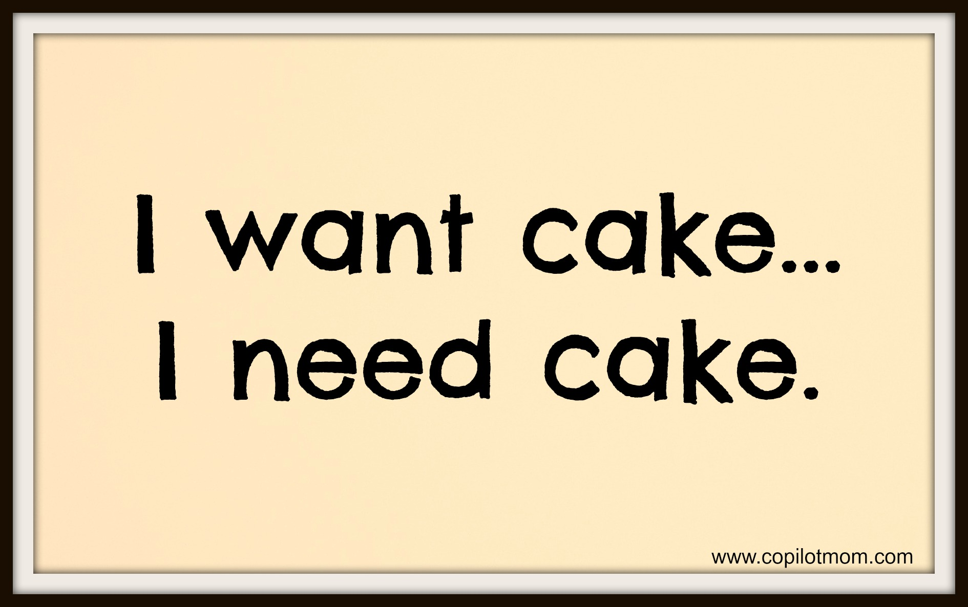 Cake quote #7