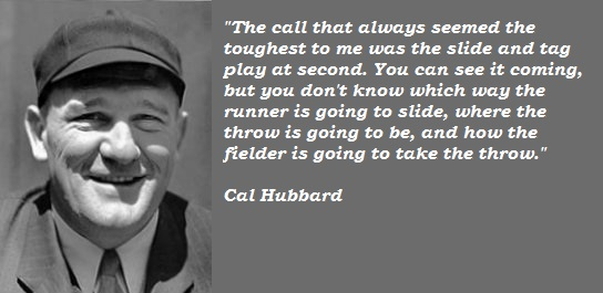 Cal Hubbard's quote #1