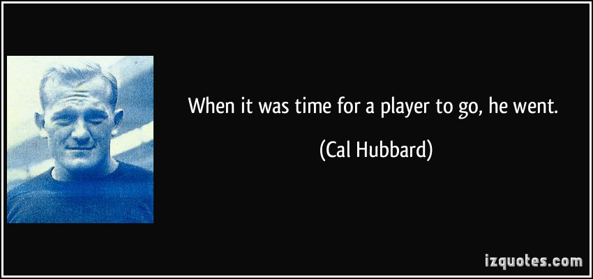 Cal Hubbard's quote #2
