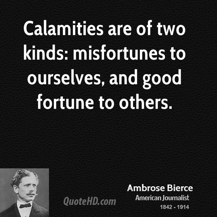 Calamities quote #2