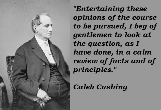 Caleb Cushing's quote #4