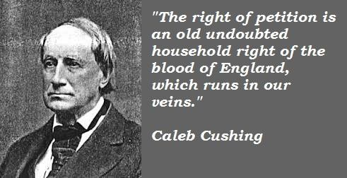 Caleb Cushing's quote #1