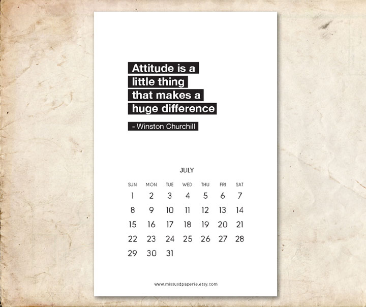 Calendars quote 1