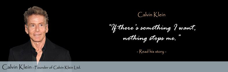 Calvin Klein quote #1
