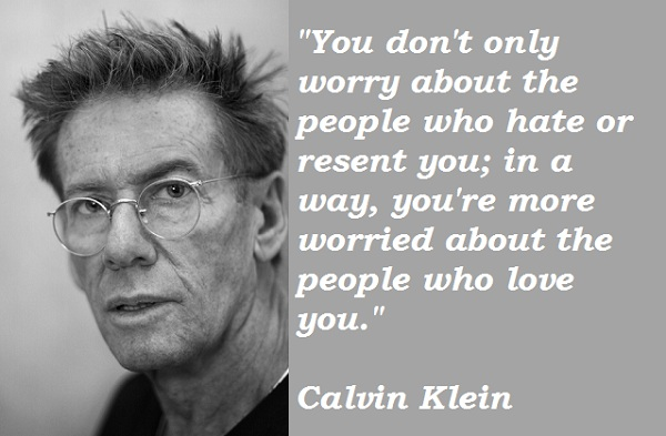 Calvin Klein quote #2