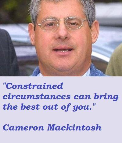 Cameron Mackintosh's quote #2
