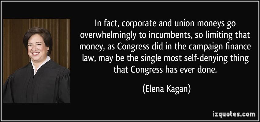 Campaign Finance quote #2