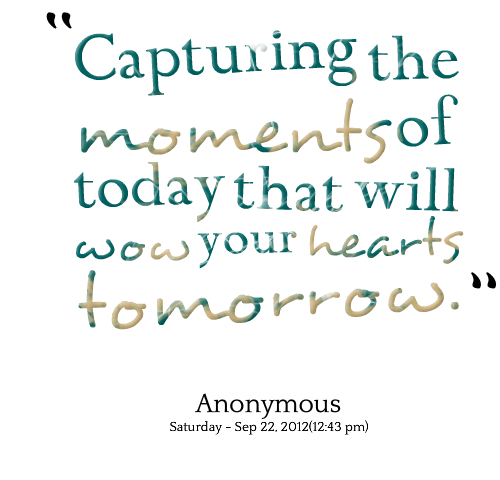 Capturing quote