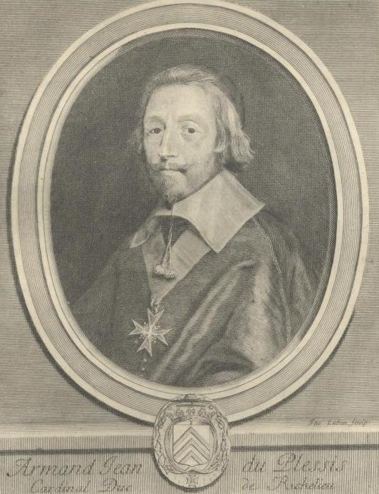 a biography of richelieu a french cardinal Armand-jean du plessis, cardinal et duc de richelieu, byname the red  eminence, french l'éminence rouge, (born september 9, 1585, richelieu,  poitou,.