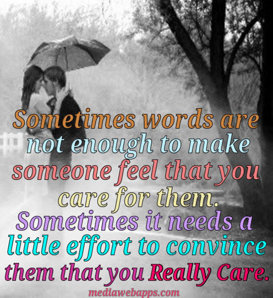Cared quote #2
